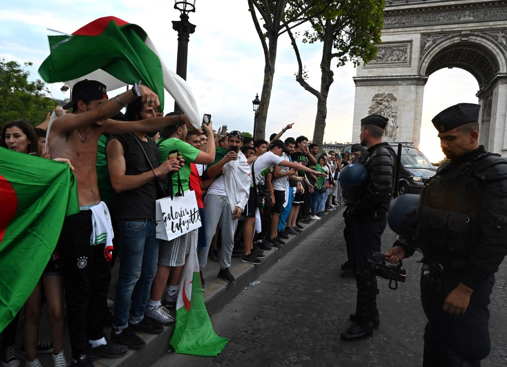 2,850 Police Officers Deployed To Control Algerian Fans In French Cities Ahead AFCON Semifinal Vs Nigeria