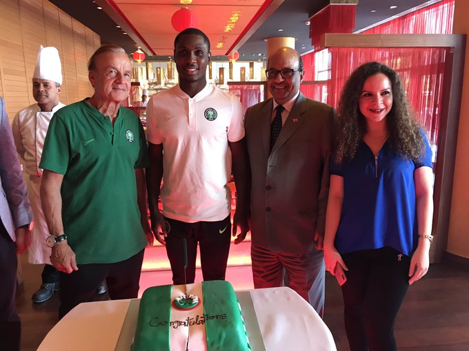 Meridien Cairo Management Celebrates Super Eagles' Win Vs Bafana