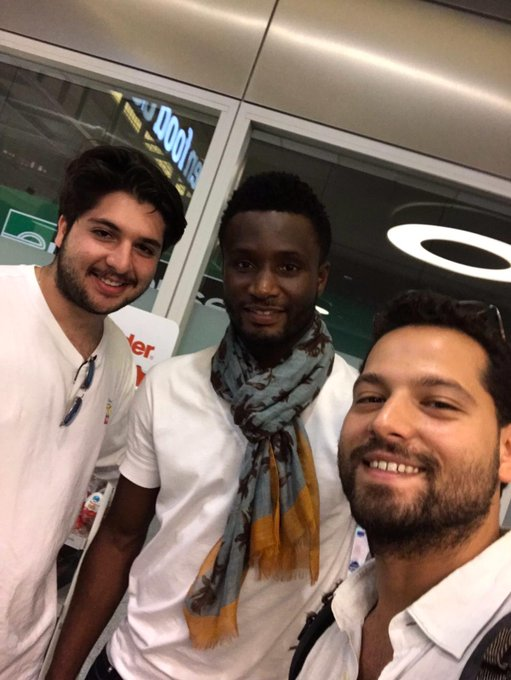 Mikel Receives Warm Reception From Trabzonspor Fans On Arrival In Turkey