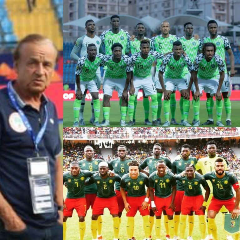 Rohr Demands Response From  Eagles Against Cameroon After Disgraceful Loss To Madagascar