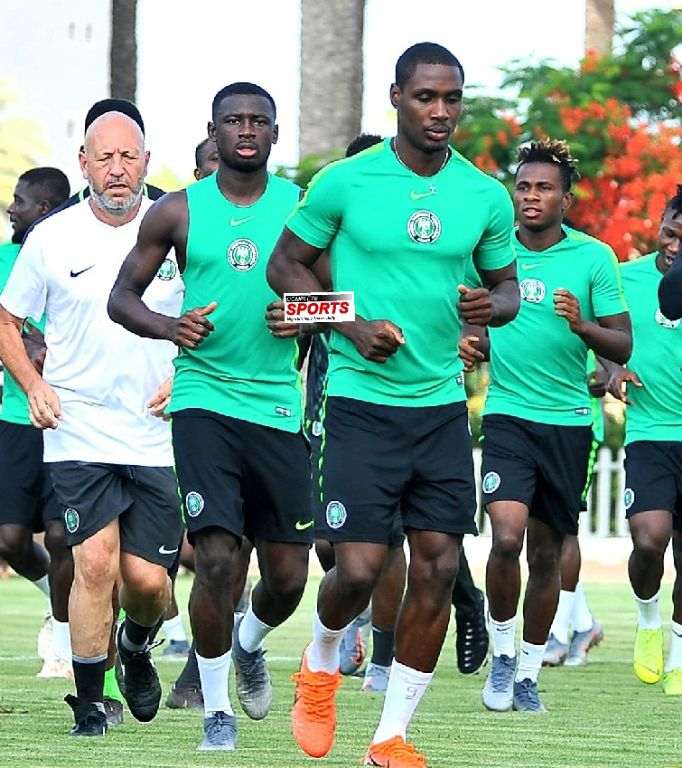 Collins Keen To Make AFCON 2019  Debut Vs Cameroon