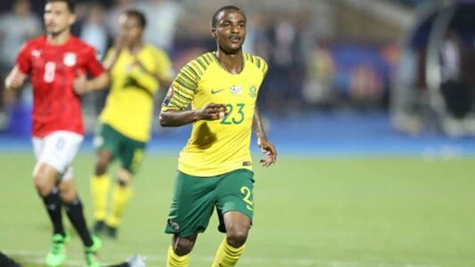 South Africa Forward Lorch Seeks AFCON Glory