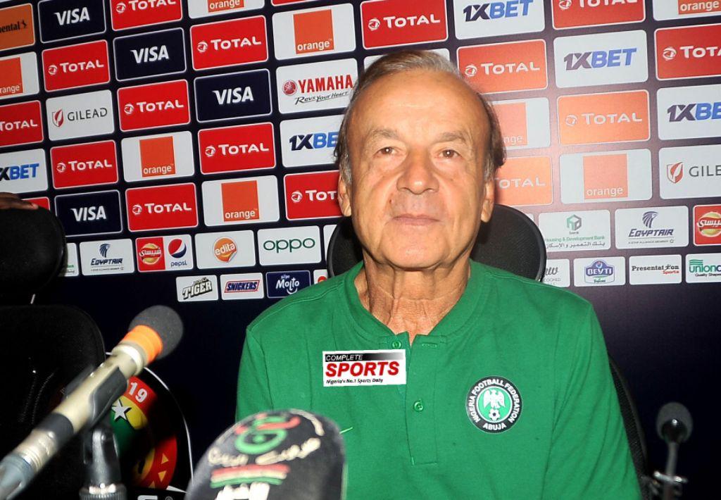 INTERVIEW: Rohr Talks Up Eagles' Readiness For Algeria Clash; On Lineup, Criticism Of Team