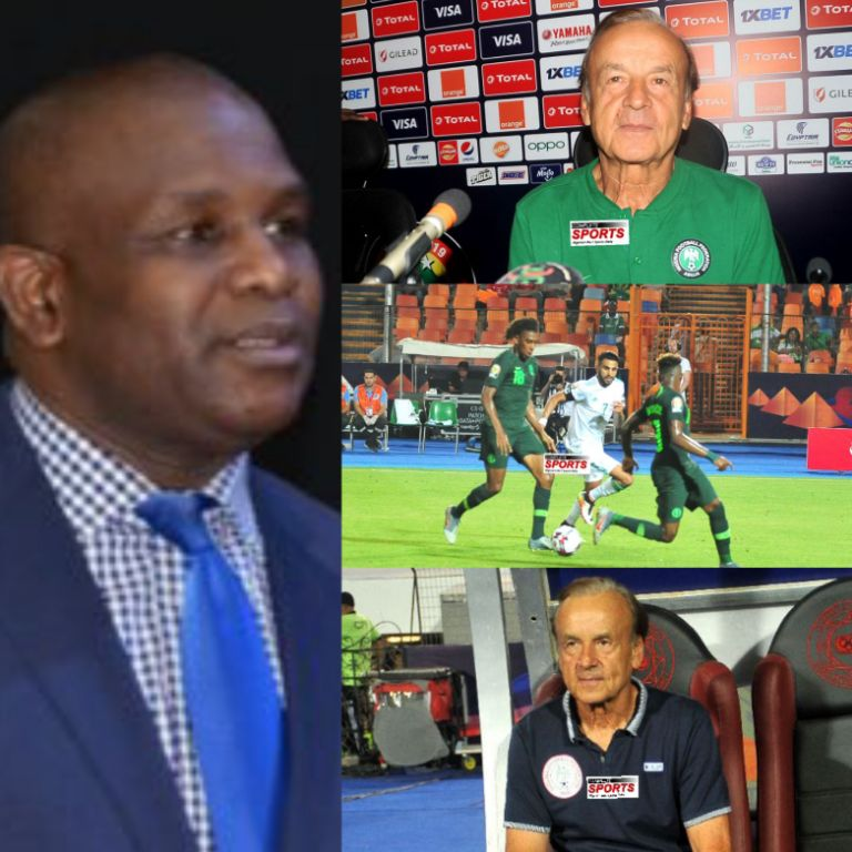 Idah Urges NFF: 'Sack Rohr Now!'