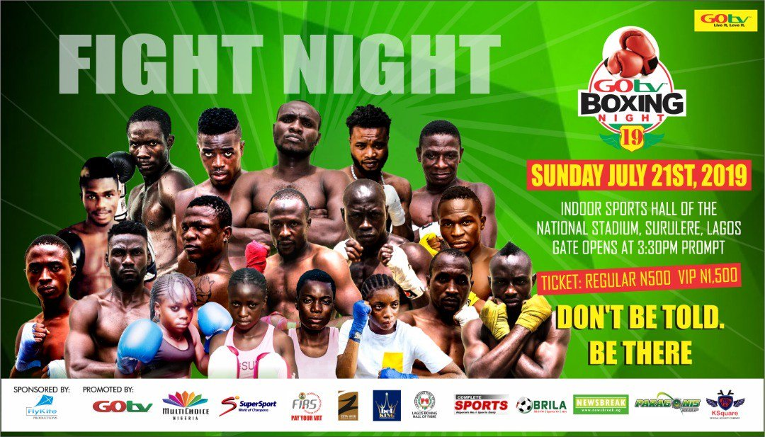 Boxers Battle For N1m Prize At GOtv Boxing Night 19