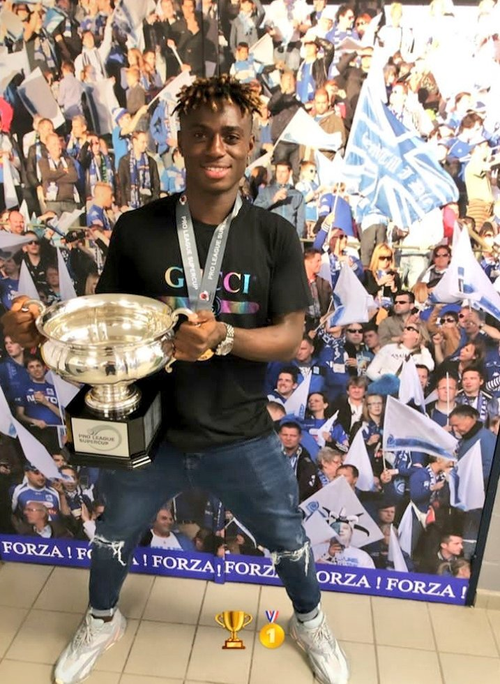 Odey Thrilled To Win Belgian Super Cup Title With Genk