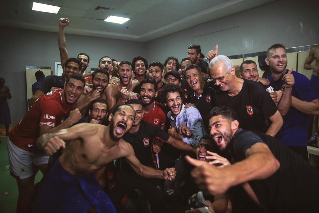 Ajayi Wins 4th Consecutive Egyptian Premier League Title With Al Ahly