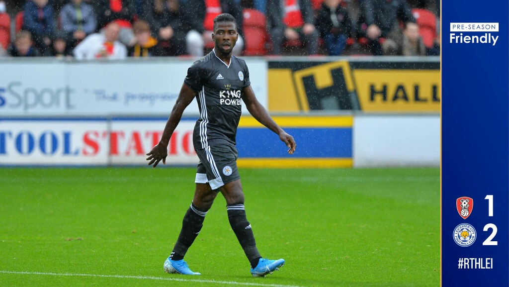 Pre-Season Friendly: Iheanacho Bags Brace In Leicester City  Draw Vs Rotherham United