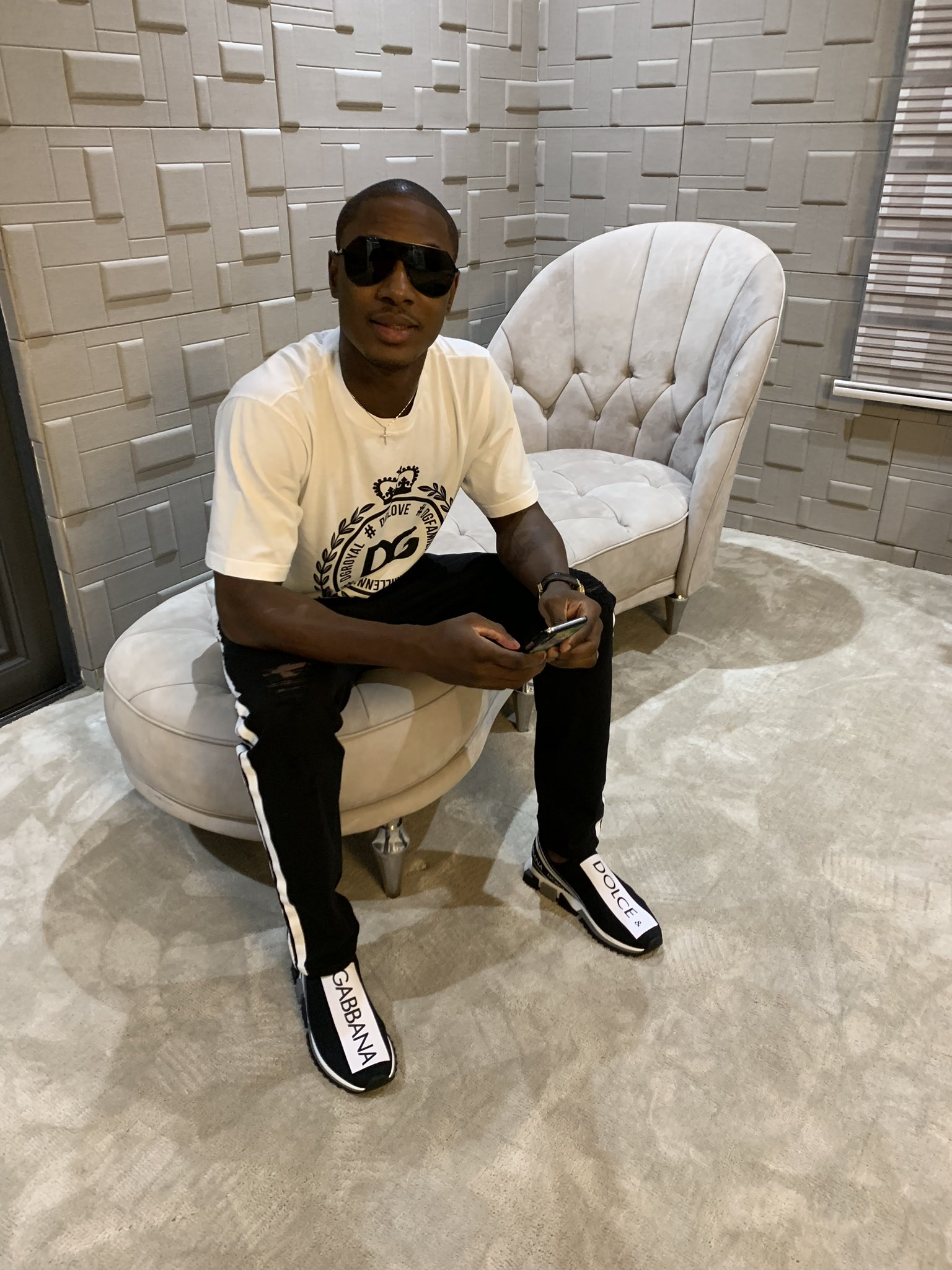 Ighalo Goes Stylish, Benevolent On Twitter; Pledges Designer Shoes, Cash To Fans