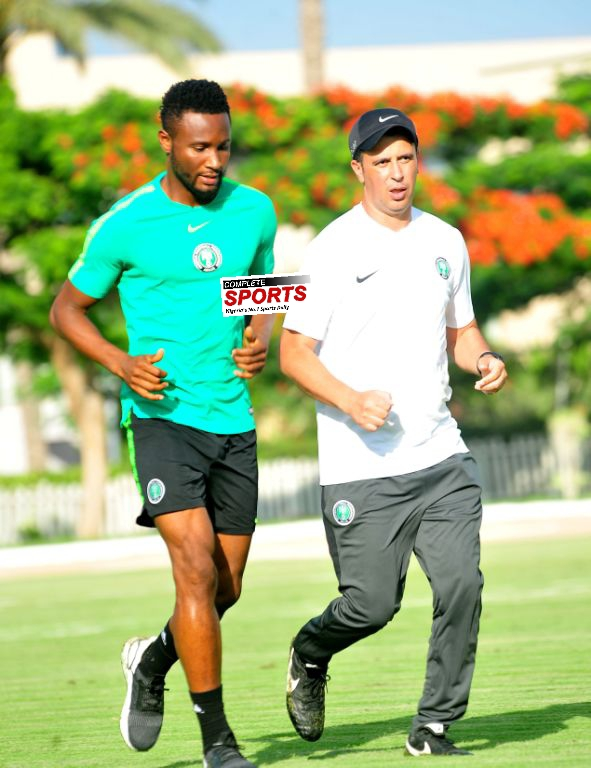 Mikel Declared Fit, Available For Selection To Face Bafana