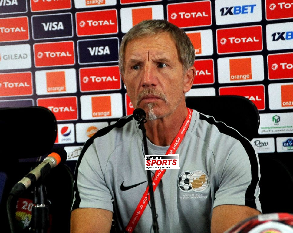 Bafana Coach, Baxter: We Respect Eagles But Not Afraid; Will Beat Them Again