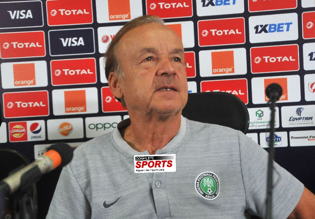 Rohr: I will Make Decision On My Super Eagles Future After Tunisia Match