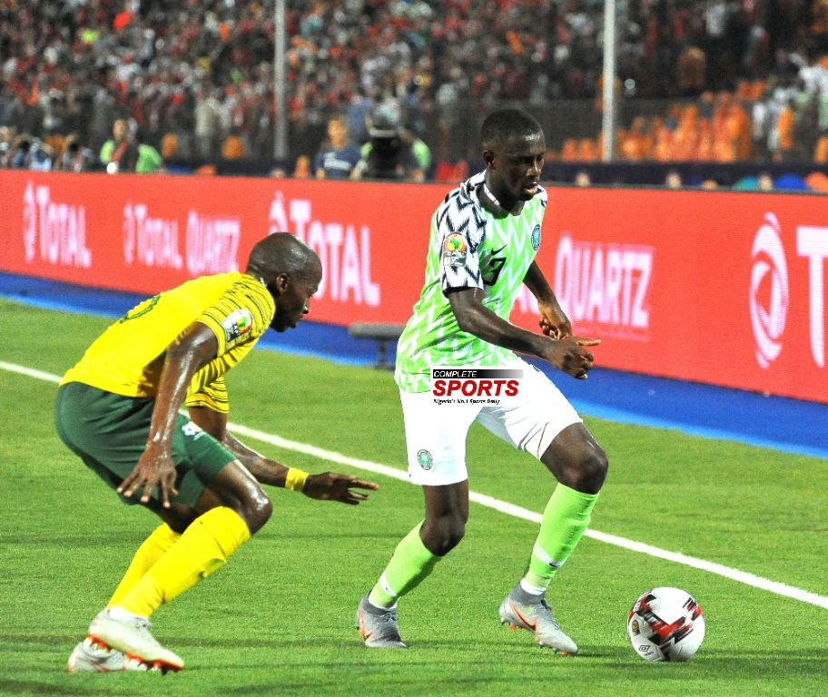 Collins: I'm Happy To Play, Win My First AFCON Finals Match