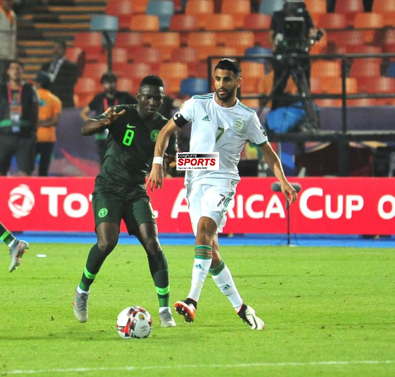 Mahrez Strikes Late Winner As Algeria Beat Gallant Eagles 2-1 To Reach First AFCON Final In 29 Years