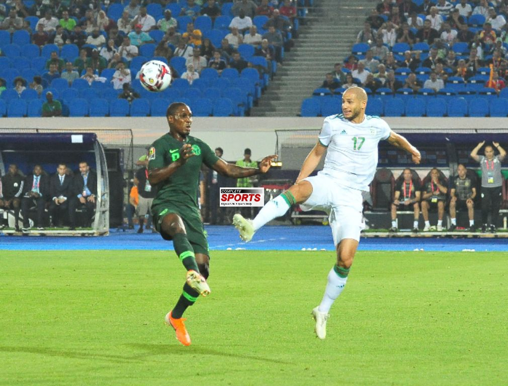 Ighalo: Eagles Unlucky; Sorry For The Loss To Algeria
