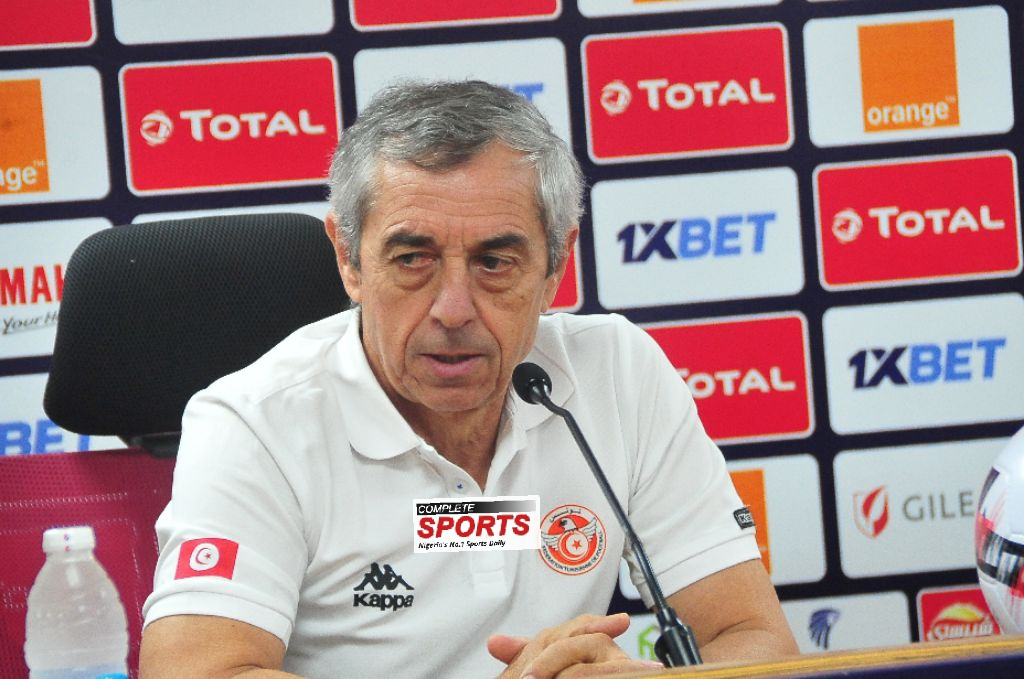 Tunisia Coach, Giresse: My Players Yet To Get Over Defeat To Senegal; Nigeria Will Be Tough