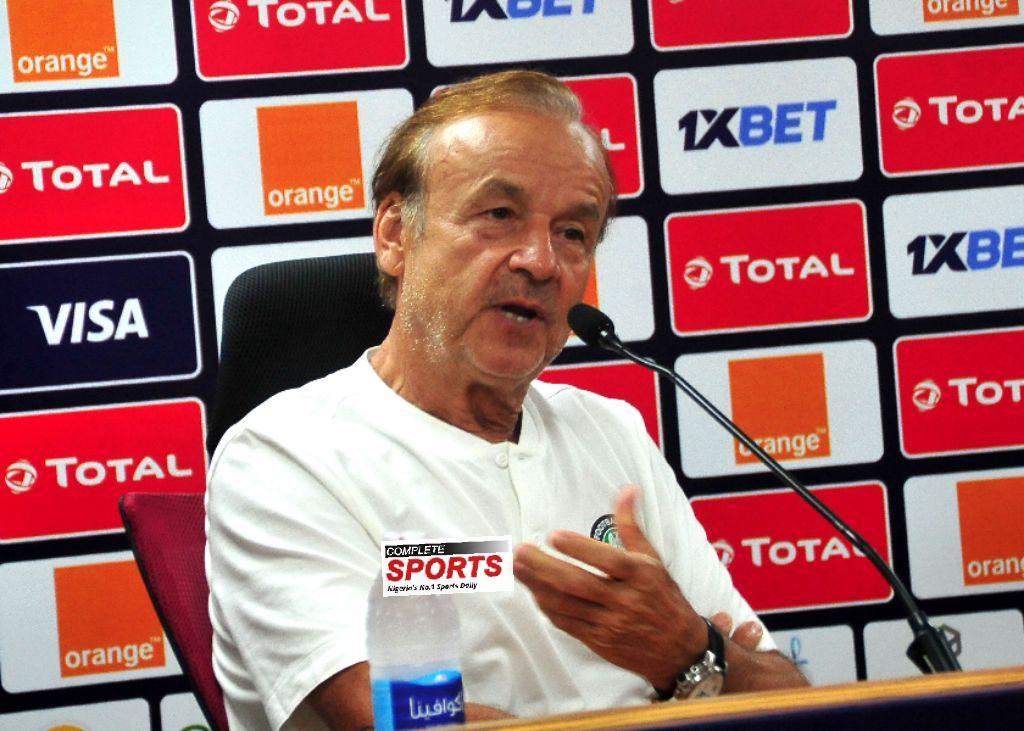 Rohr: Eagles Feel Motivated To Beat Tunisia; We'll Field Strong Lineup