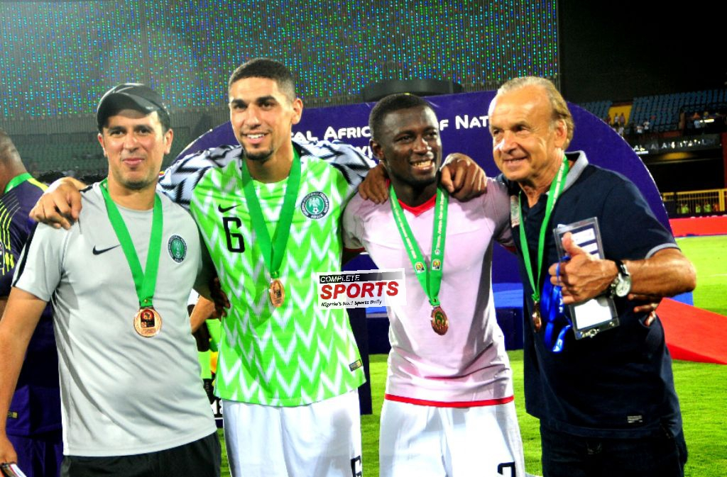Balogun, Ogu May Go As Rohr Fortifies Super Eagles After AFCON 2019