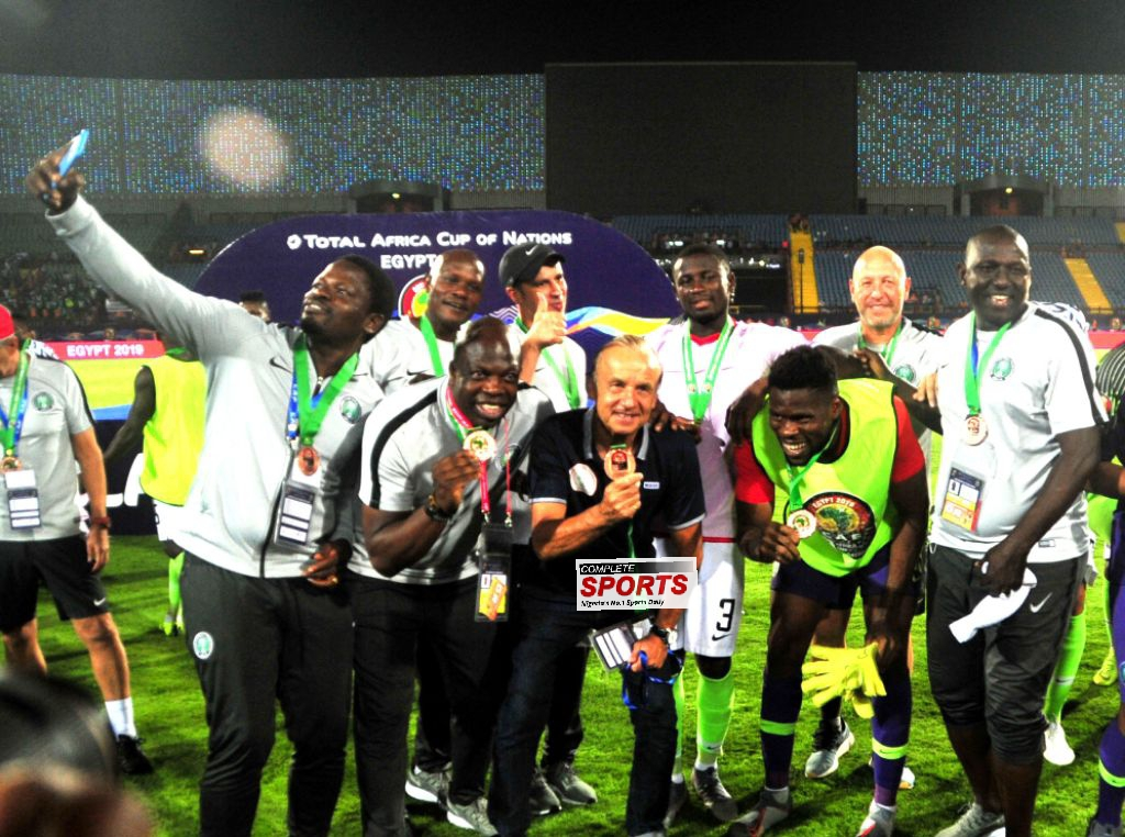 Pass Mark for Super Eagles and Gernot Rohr