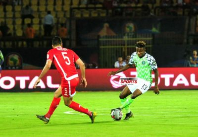 samuel-chukwueze-super-eagles-tunisia-afcon-2019-africa-cup-of-nations-egypt-2019