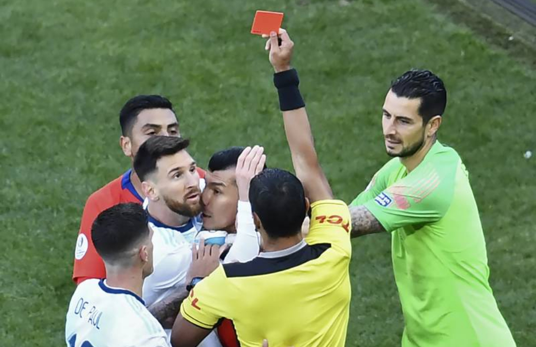 Messi Gets One-Match Ban, Fined $1,500 For Red Card, Comments At Copa America