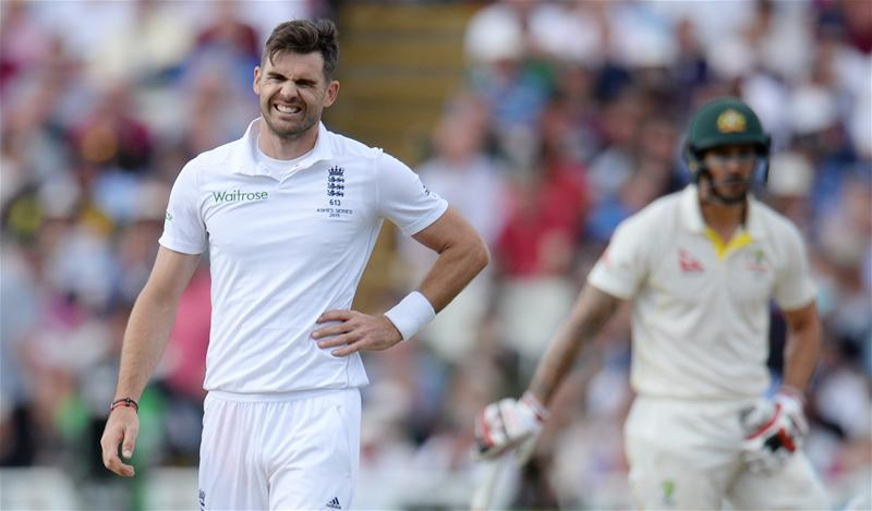 Anderson Concern For Ashes