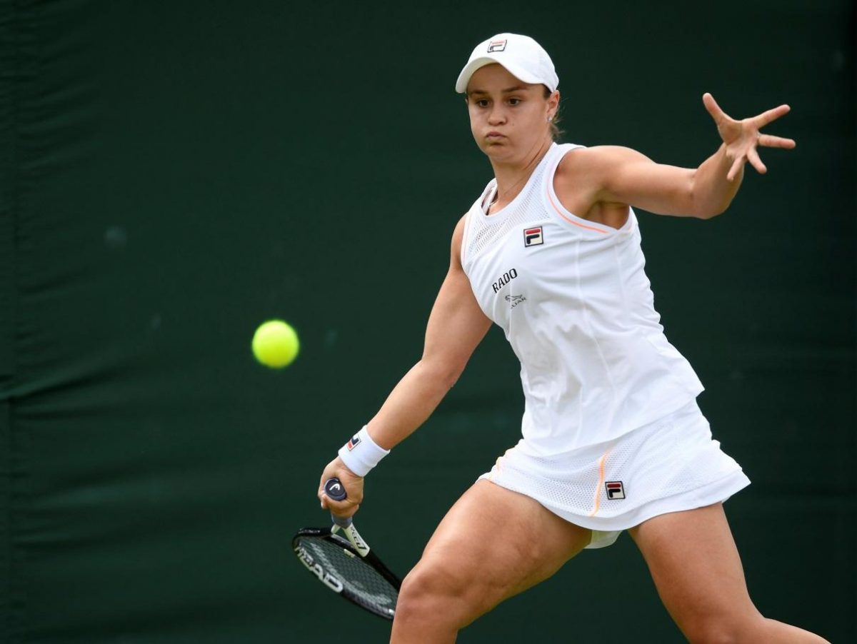 Barty Stunned By Riske At Wimbledon