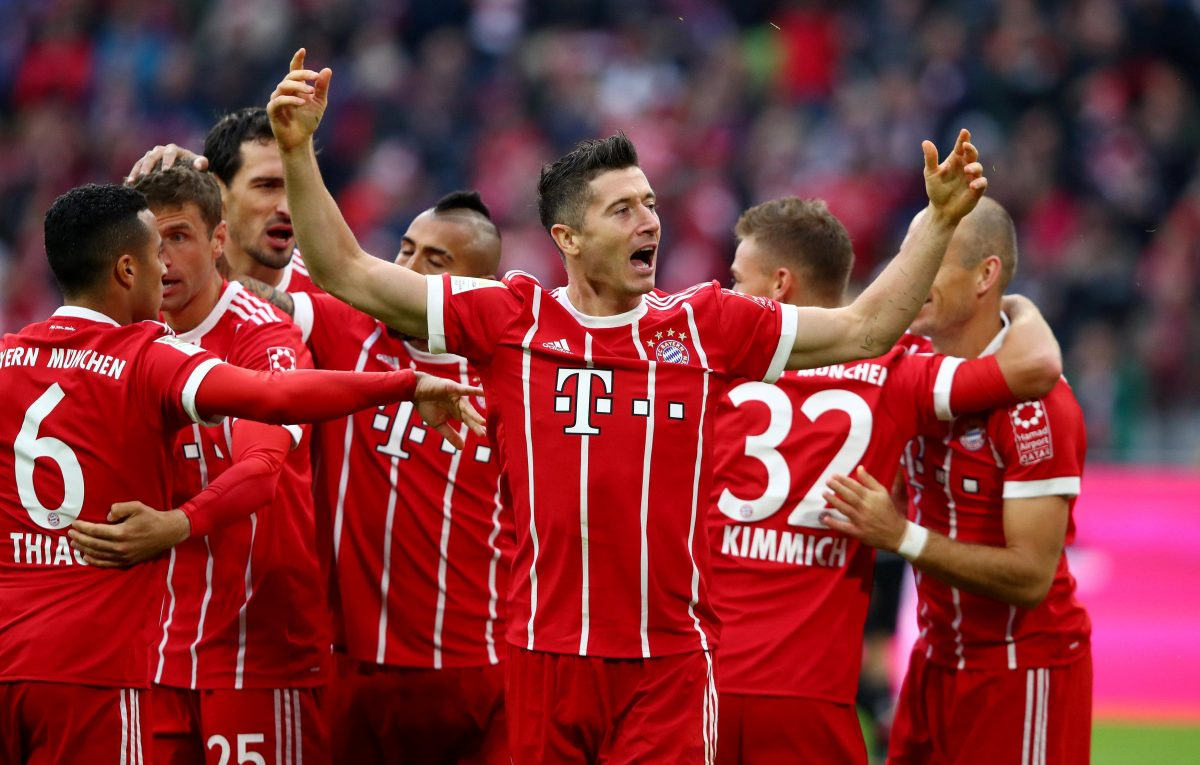 Bayern Slip To Gunners Defeat