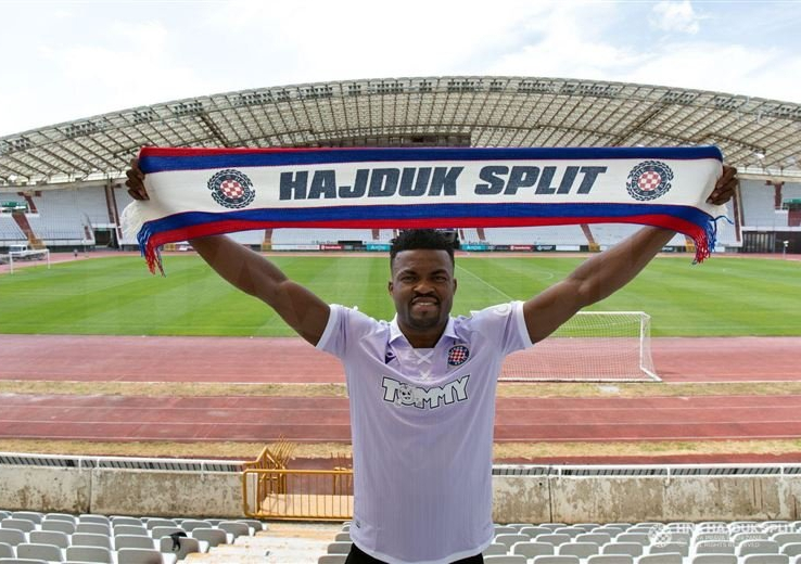 Eguma Happy With Eduok's Euro Progress With Hajduk Split Move