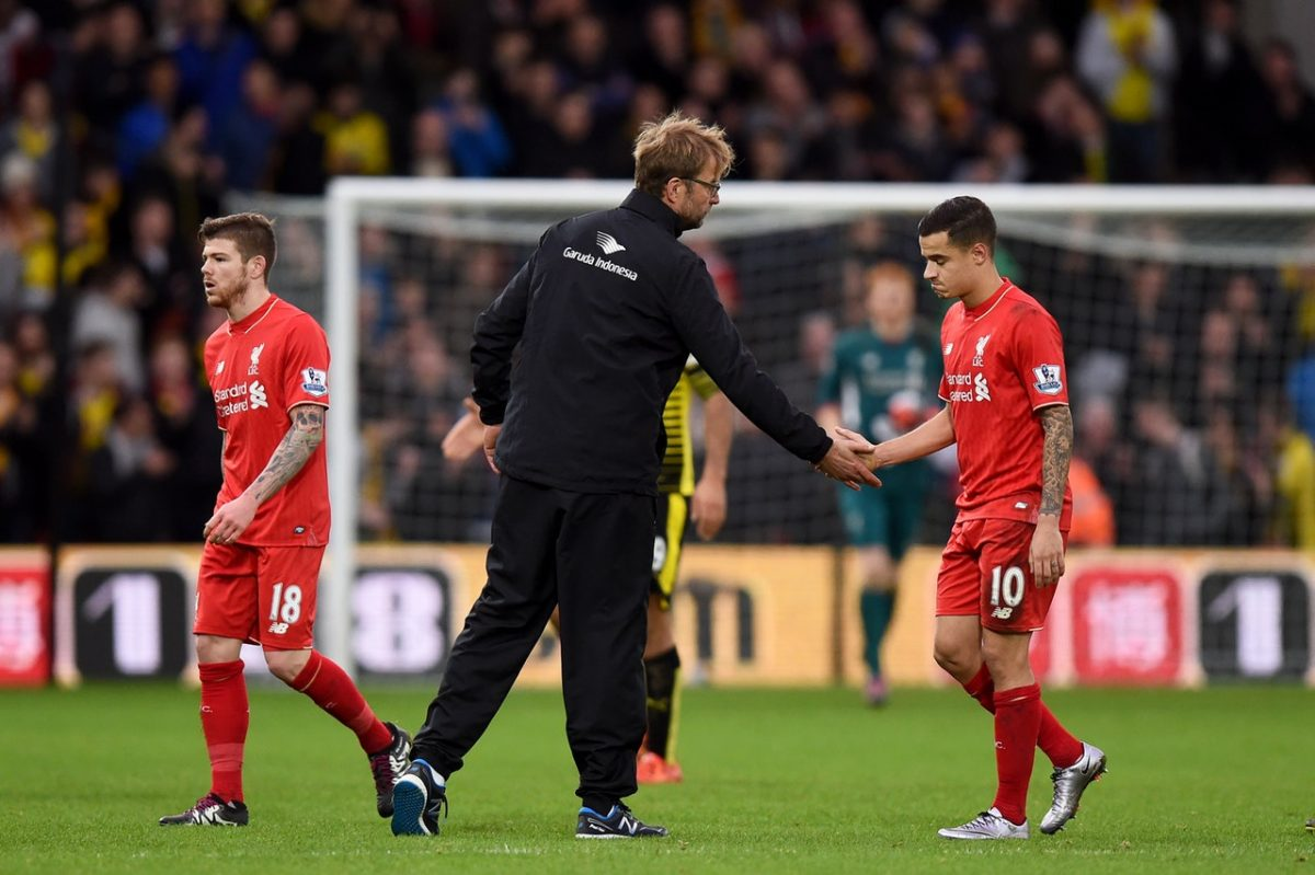 Klopp Rules Out Coutinho Move