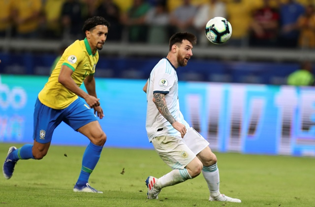 Marking Messi Almost Got Messy For Marquinhos
