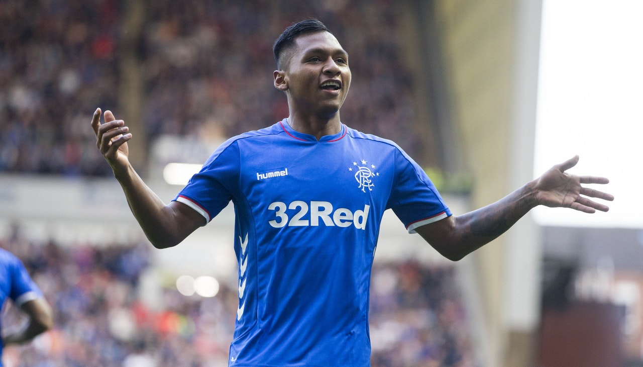 Milan Cast Eye Over Rangers Striker