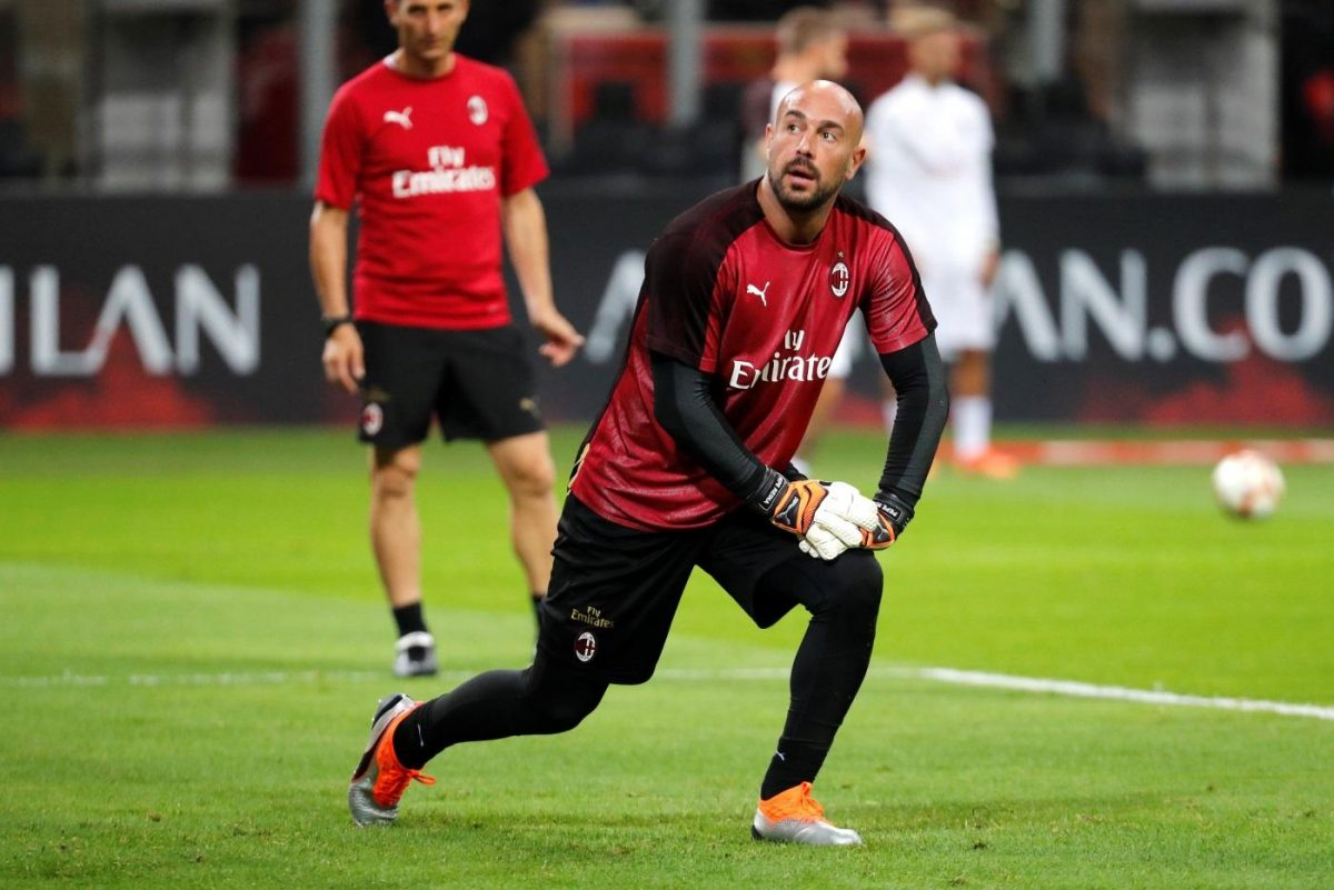 Reina Delighted With Giampaolo Impact