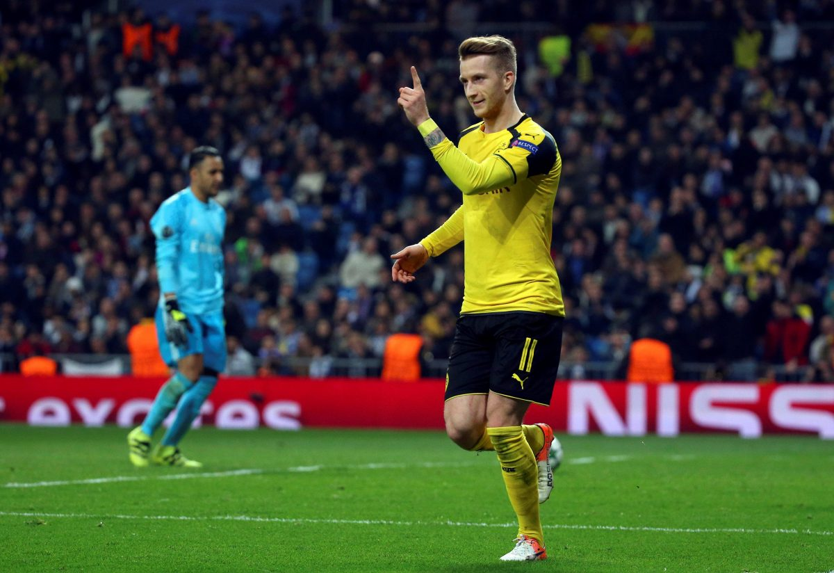 Reus Earns Witsel Praise