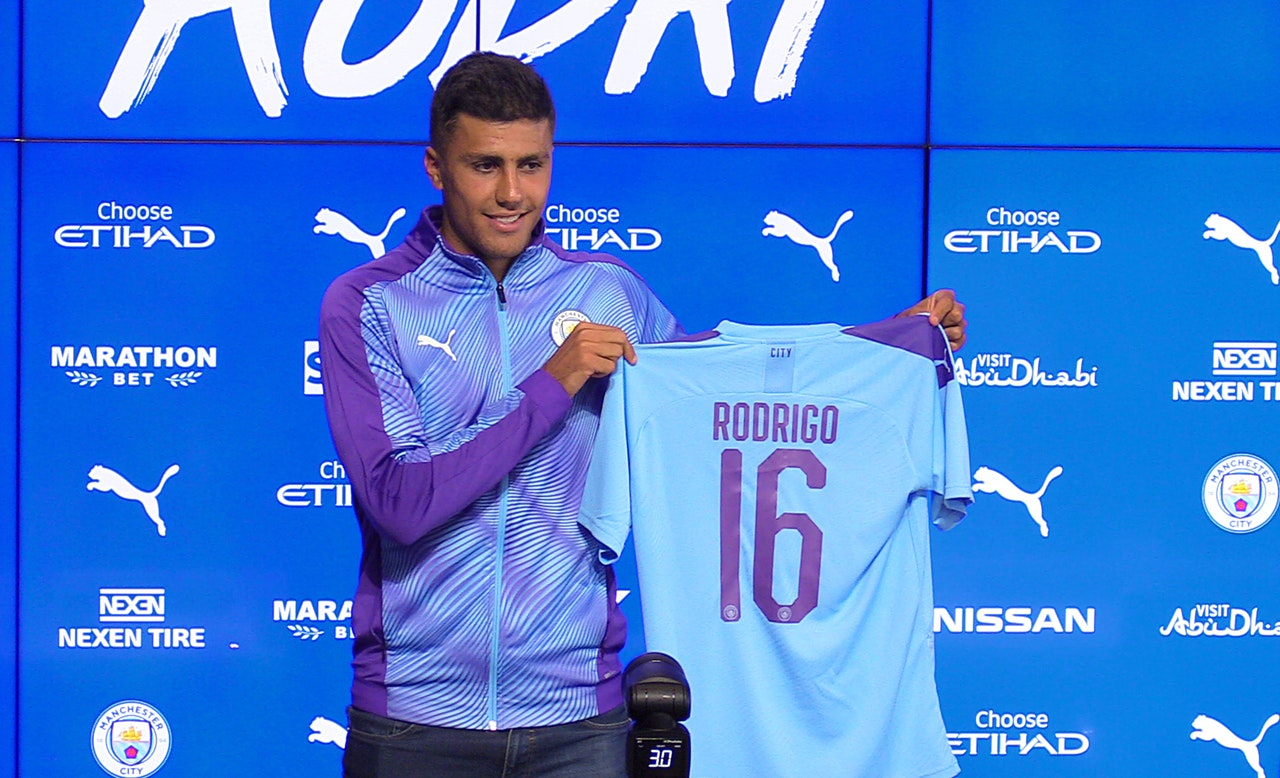 Rodri Sets His Sights On Euro Glory