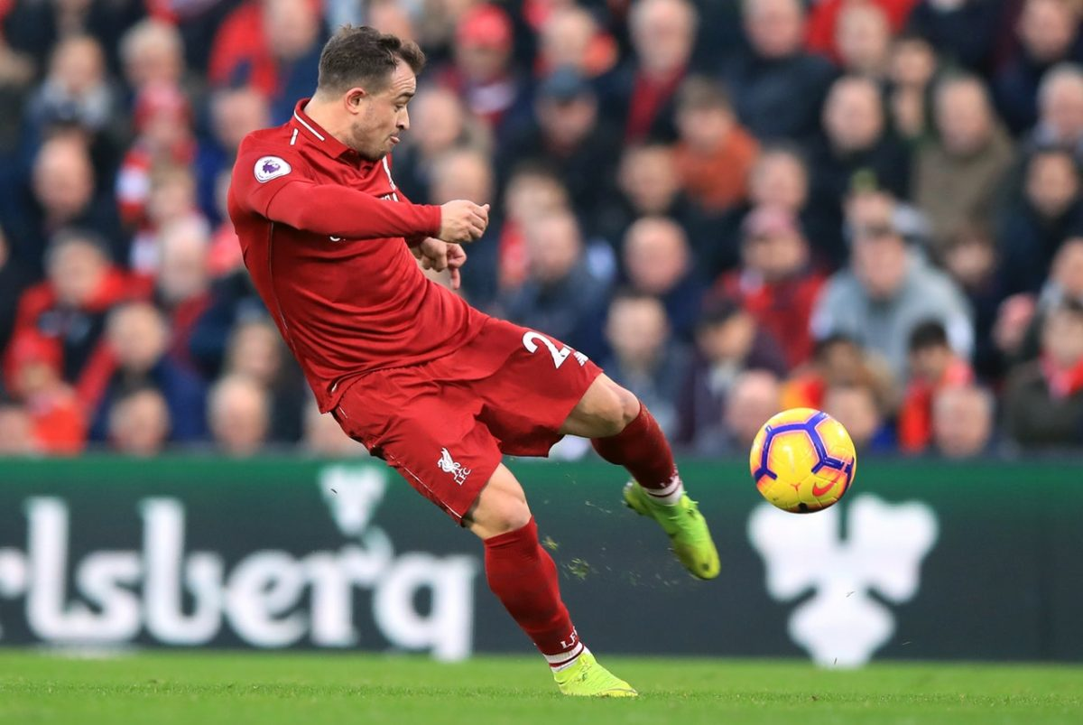 Shaqiri Eager To Make Up For Lost Time