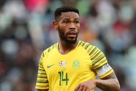 Bafana Captain, Hlatshwayo: 'We'll Give Our All To Beat Biggest Rival Team Nigeria'