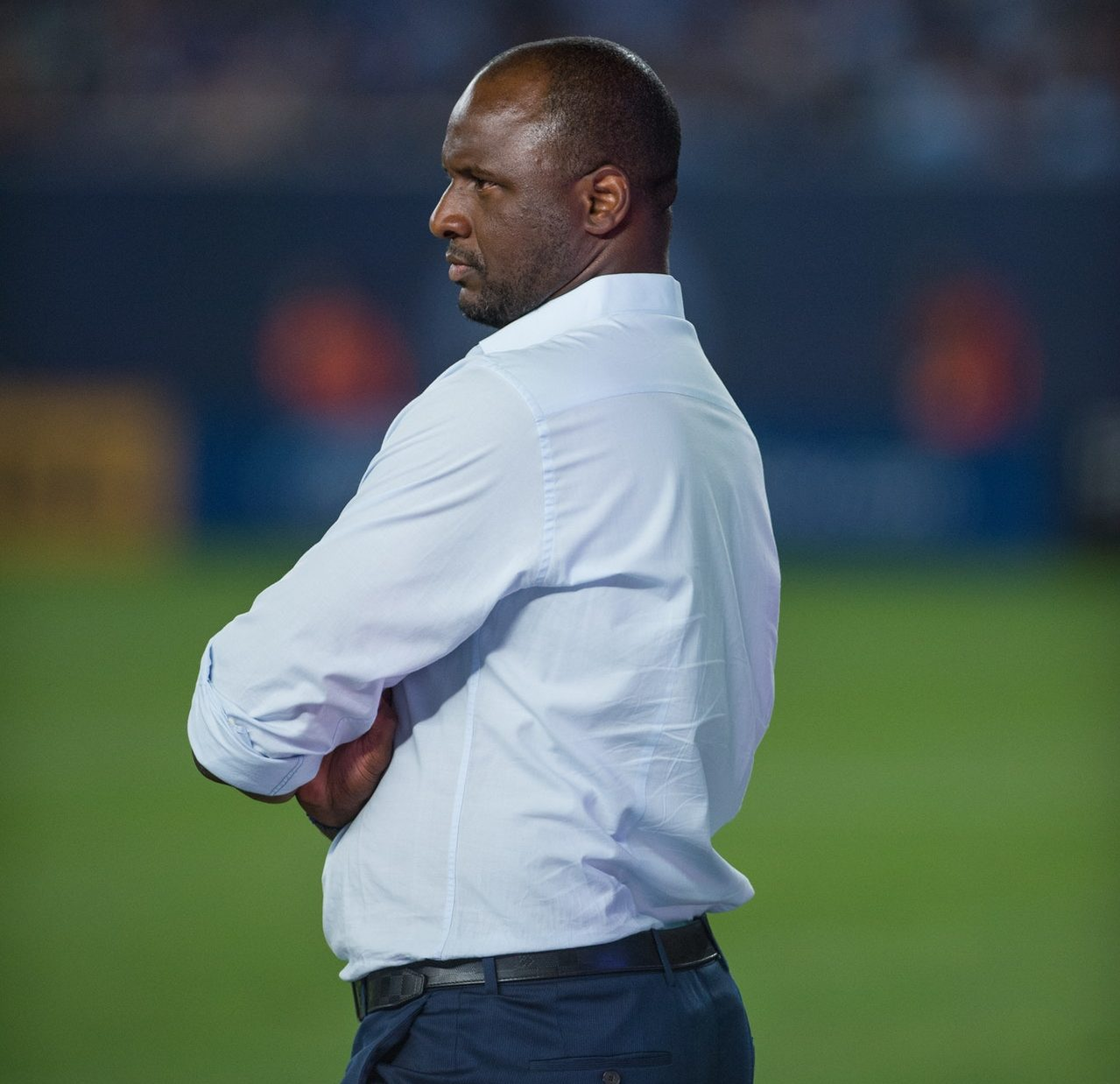 Vieira Dismisses Newcastle Talk