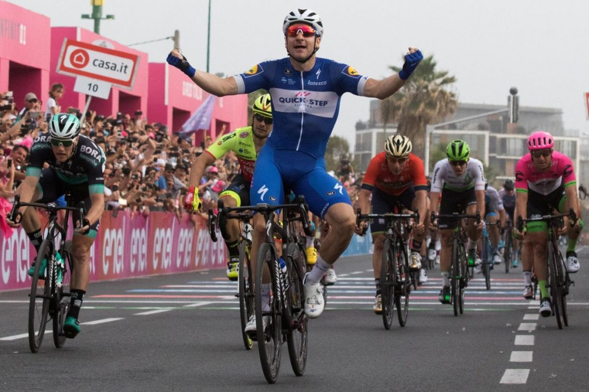 Viviani Claims Maiden Stage Success