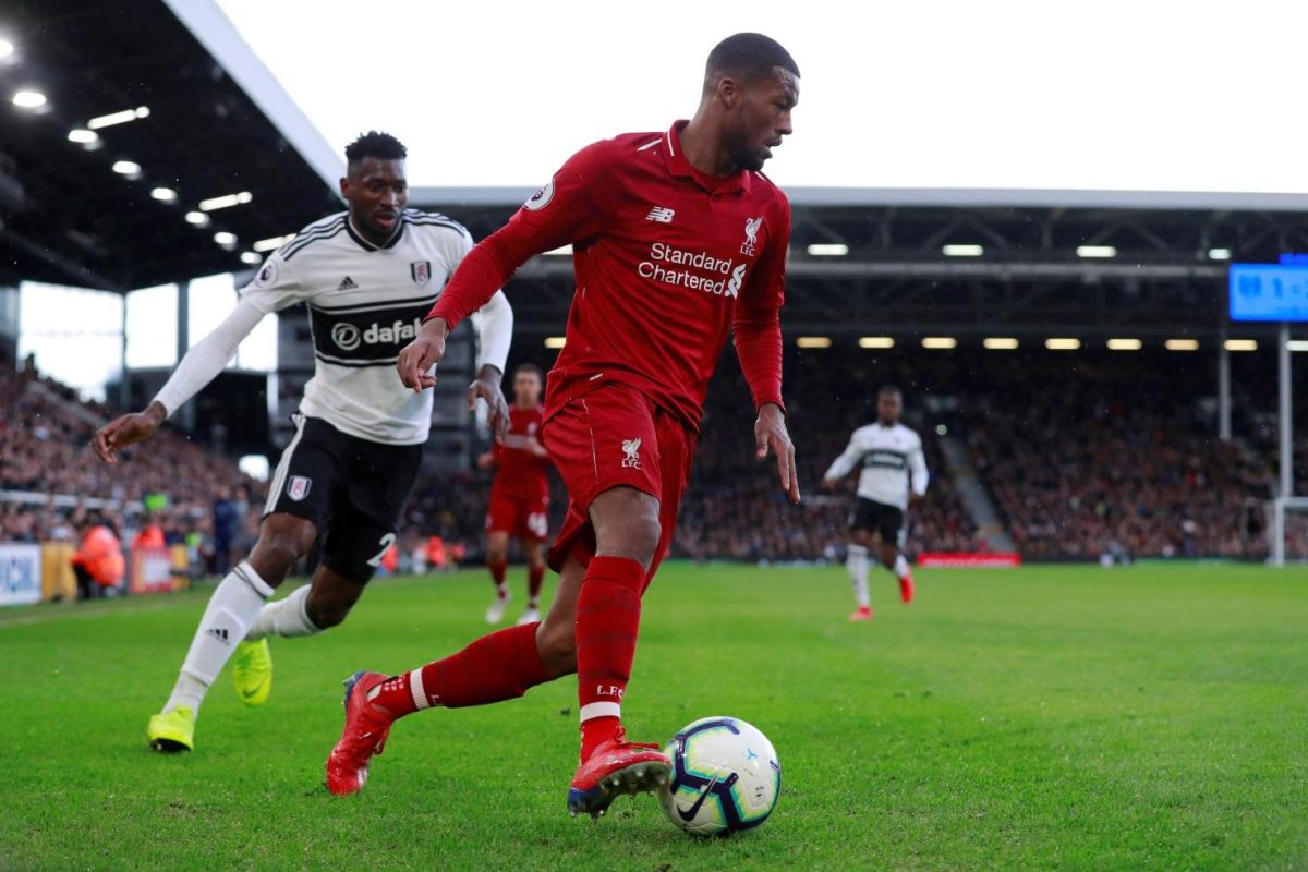 Wijnaldum – We Will Fight Back