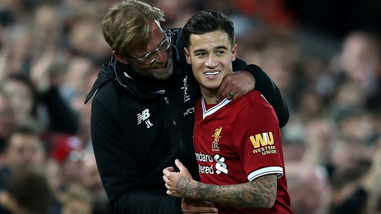 Klopp Rules Out Re-Signing Coutinho From  Barcelona This Summer