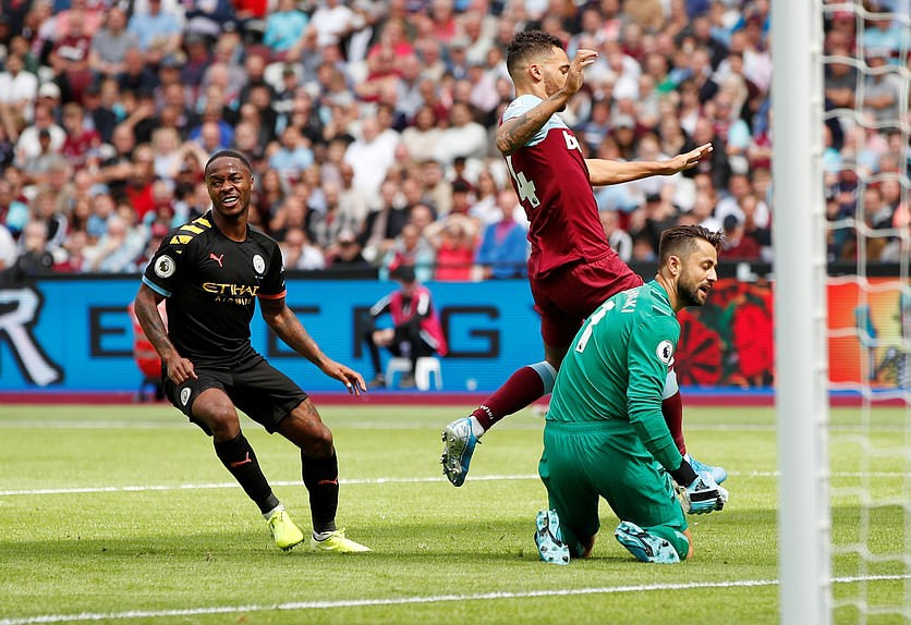 Sterling Bags First Hat-Trick Of EPL Season As Man City Maul West Ham 5-0