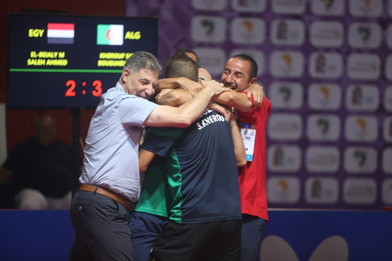 12th AAG: Nigeria, Algeria Halt Egypt's Dominance In Table Tennis Doubles