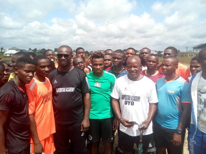 Chukwueze Named Honourary President Of Super Stars Academy