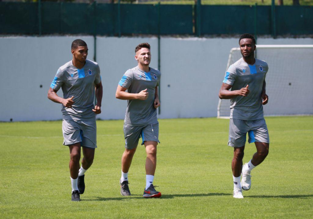 Mikel, Onazi Drilled In Trabonspor  Endurance Training Ahead Europa League Qualifier Vs Sparta Prague