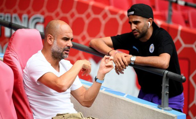 Drug Concern Forced Mahrez To Miss Man City Community Shield Win Vs Liverpool