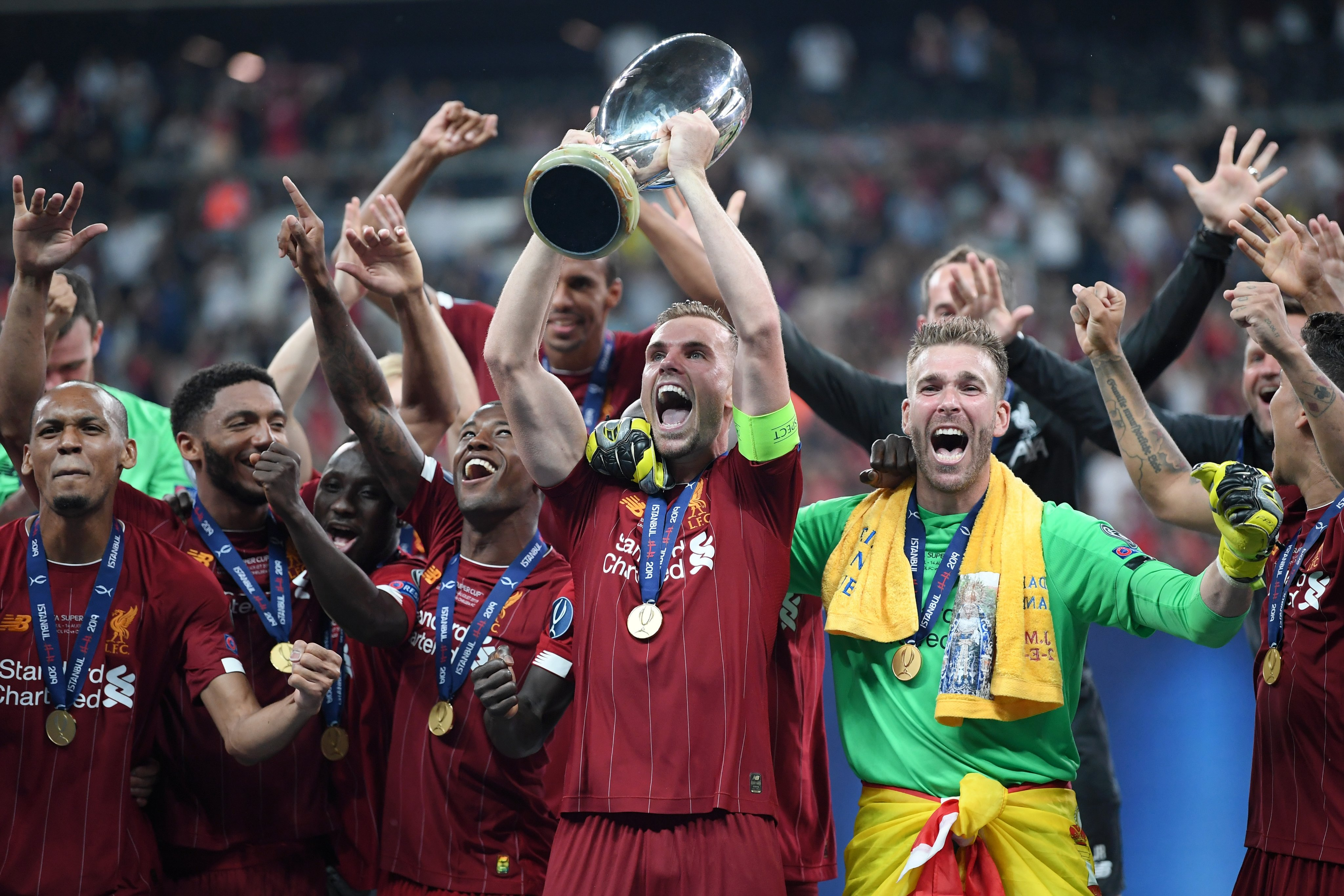 Liverpool Pip Chelsea On Penalties To Win UEFA Super Cup