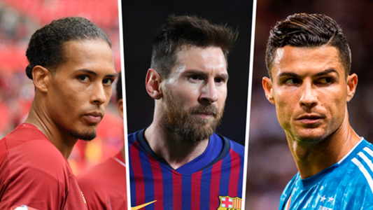 Messi, Ronaldo,  Van Dijk Nominated For UEFA Men's Player Of The Year Award