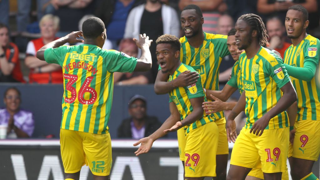 Championship: Ajayi Stars In West Brom Win At Luton; Etebo Subbed On As Derby Hold Stoke