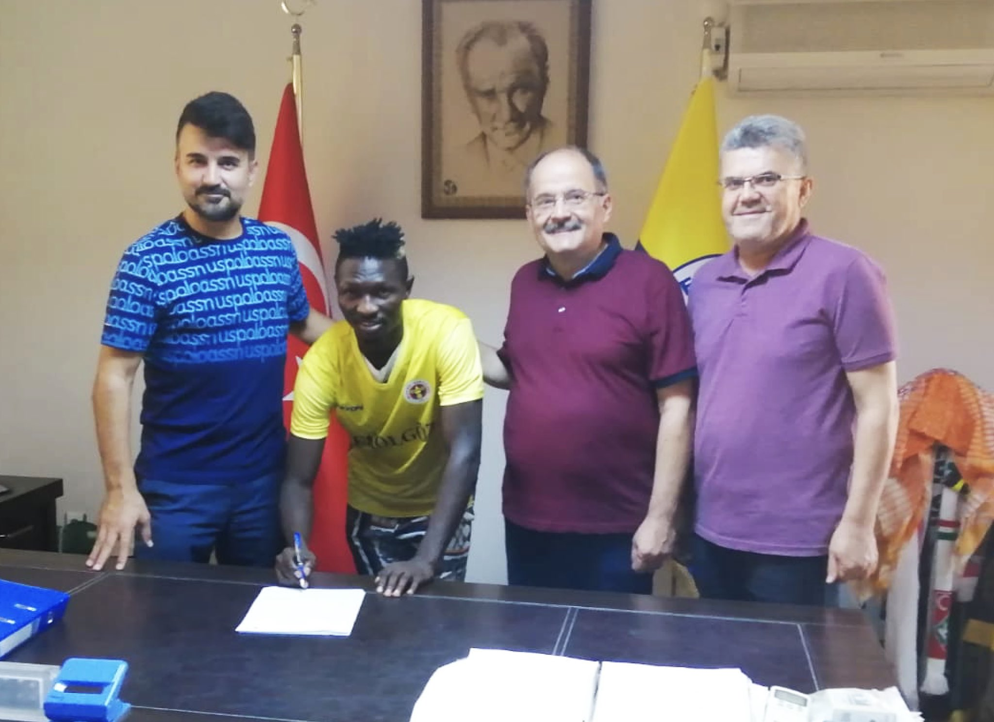 Olatunbosun: I'm Excited To Join Menemenspor, Our Target Is Promotion